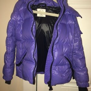 S13 Girls Mogul Coat Purple 10